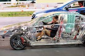 safest cars for new drivers transparent car made of acrylic feedyourdrive