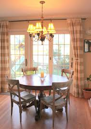 Window Treatments For Kitchen by Sliding Glass Door Curtain Ideas Love The Country Chairs And The