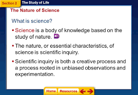 the study of life section 1 introduction to biology ppt video