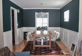 Two Tone Dining Room Paint Dining Room Two Tone Paint Ideas Of Contemporary Walls With Chair
