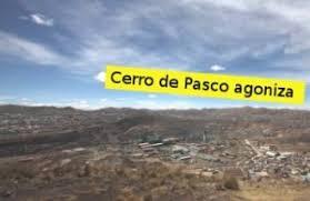 cerro de pasco noticias de cerro de pasco diario correo contaminación minera esteriliza cerro de pasco www alertaplomo org