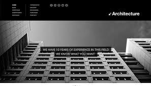architect website design 20 architecture portfolio templates for architect websites