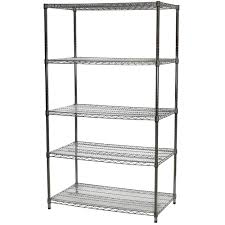 Sandusky Ws241430 Heavy Duty Stainless Steel Wire Shelving Stainless Steel Wire Mesh