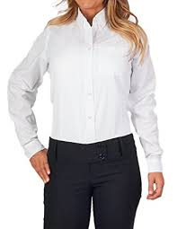 amazon com womens longer tail long sleeve oxford shirt clothing