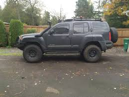 nissan xterra lifted body lift pics second generation nissan xterra forums 2005