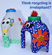 recycled home decor projects home decor archives page 2 of 106 elephant puns milk bottles