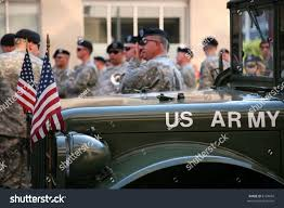 back of a jeep us army soldiers gather back jeep stock photo 8124604 shutterstock