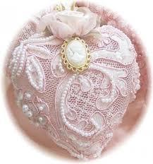 light pink ornaments decore