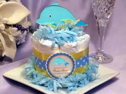 cake centerpiece the sea dolphin baby shower cake centerpieces pavia