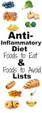 anti inflammatory diet foods to eat and foods to avoid lists