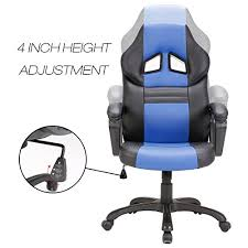 Racing Seat Desk Chair Seatzone Swivel Office Chair Racing Car Style Bucket Seat Gaming