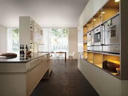 kitchen design breakfast bar best perfect galley kitchen designs with breakfast 4347