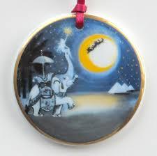 bing grondahl santa christmas around the world ornament 1996