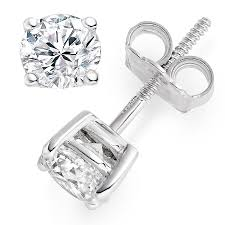 stud diamond earrings 0 66 carat d vvs1 stud diamond earrings vashi