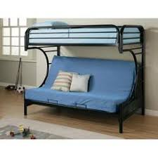 Loft Bed With Futon And Desk Coaster Black Finish Metal Bunk Bed Futon Desk Chair
