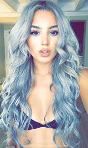 grey hair 2015 highlight ideas denim hair is the latest trend as women dye their hair purple blue