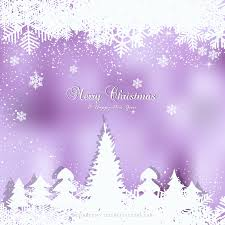 dark purple christmas winter snow background with trees