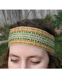 vintage headbands amazing deal on mens vintage headband hippie headbands woven green