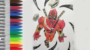 deadpool coloring pages funny deadpool fun pages sailany coloring