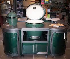 big green egg chef cooking island glyndon gardens
