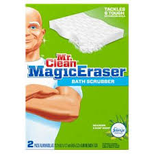 mr clean magic eraser multi purpose cleaning pad 4 pack
