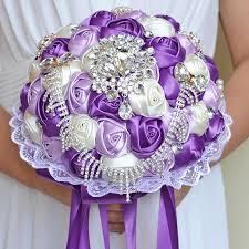 Wedding Bouquets Cheap Aliexpress Com Buy 2017 Bridal Bridesmaid Wedding Bouquet Cheap