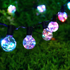 Patio String Lights White Cord by Stringing Outdoor Patio Lights White Cord Globe String Lights