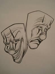 25 best evil clown tattoo flash images on pinterest jokers