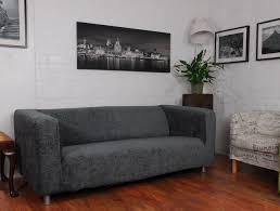 sofa klippan grey roma linen textured chenille ikea klippan sofa cover hipica