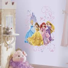 disney princesses with castle wall decals princess cinderella disney princesses with castle wall decals princess cinderella rapunzel