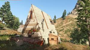 a frame cottage a frame cabin gta5 mods com
