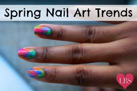 spring nail art trends lovebrownsugarlovebrownsugar