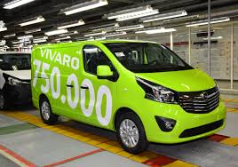 2015 opel vivaro lcv bestseller 750 000th opel vivaro rolls off production line