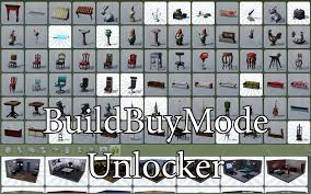 mod the sims buildbuymode unlocker