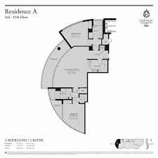 chateau floor plans chateau beach residences sunny isles beach floor plans