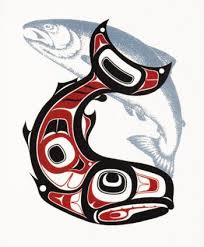 13 best salmon tattoos images on pinterest graphics alaska