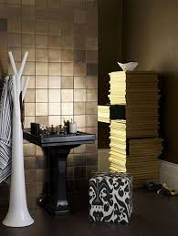 gold bathrooms 31 black and gold bathroom tiles ideas and pictures
