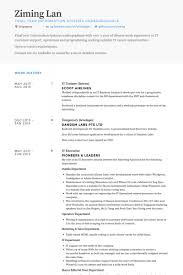 It Executive Resume Samples trainee resume samples visualcv resume samples database