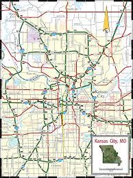 Missouri On Map Kansas City Mo Ks Map