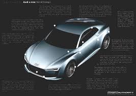Define Exude by 2010 Audi E Tron Concept Car Design Dissection