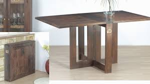 Folding Dining Table With Chair Storage Ideas Folding Dining Table Attached To Wall India Set And