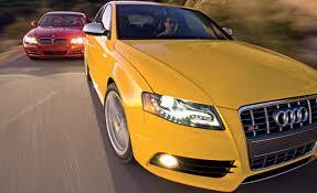 lexus awd vs bmw xdrive 2010 audi s4 vs 2009 bmw 335i u2013 comparison test u2013 car and driver
