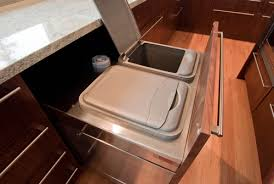 Innovations From The Cabinet Shop BUILD Blog - Kitchen cabinet garbage drawer