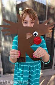 Kids Reindeer Crafts - r is for reindeer rudolph alphabet craft for kids crafty morning