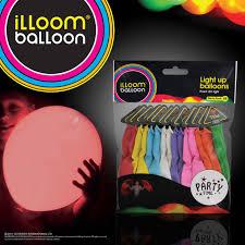led light up balloons walmart amazon com illooms led light up balloons party time mixed color