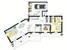 plan de maison avec cuisine ouverte stunning modele maison cuisine ouverte images antoniogarcia info