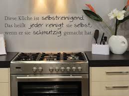 bilder für die küche wandtattoo diese küche ist selbstreinigend wandtattoos de