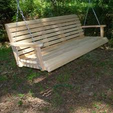 Cypress Outdoor Furniture by La Cypress Swings Crs7 Regular Porch Swing The Mine