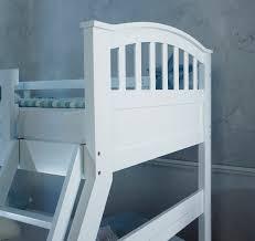 BARBICAN WHITE  SLEEPER BUNK BED  HARDWOOD The Artisan Bed Company - Three sleeper bunk bed