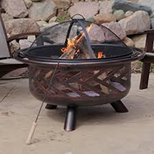 Fire Pit Ring With Grill by Buy Round Fire Pit Grate 28 U0026quot Heavy Duty Grill Cooking
